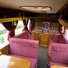 Inside The Classic Carriage - Essex Luxury Minicoaches