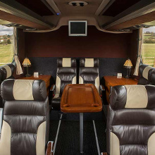 Inside the Touring Coach - Essex Luxury Coaches