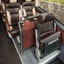 The crew seat - Essex Luxury Coaches