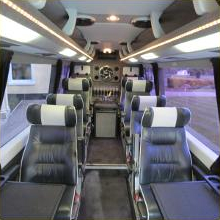 Luxurious executive business travel - Essex Luxury Minicoaches