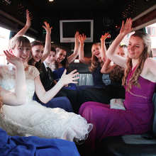 Wedding  party travel