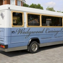 The Wedgwood Carriage - Essex Luxury Minicoaches